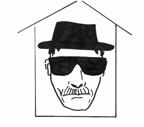 BBDrawing Outstanding Home in a Drama Series: Breaking Bad