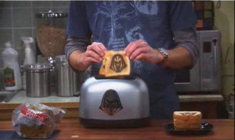 The Battlestar Galactica Cylon Toaster