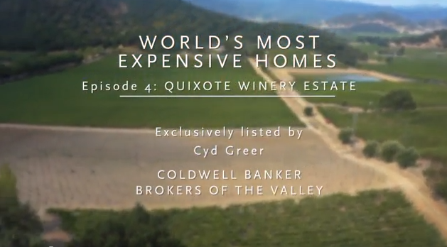 quixote winery Worlds Most Expensive Homes: Quixote Winery Estate