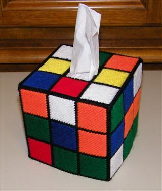 The Rubik S Cube Tissue Box Cover