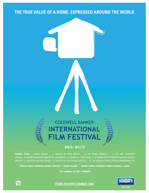 small movie poster Introducing the 2013 Coldwell Banker International Film Festival