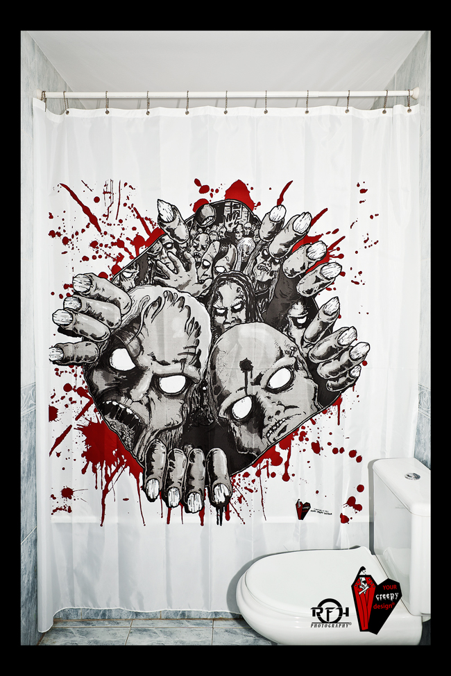 creepymonsters 9 Shower Curtains I Never Want to See in Your Home