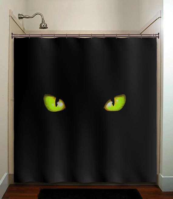 green eye cat 9 Shower Curtains I Never Want to See in Your Home