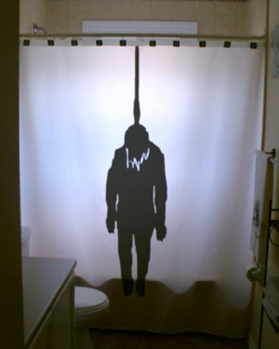 hangman showercurtain 9 Shower Curtains I Never Want to See in Your Home