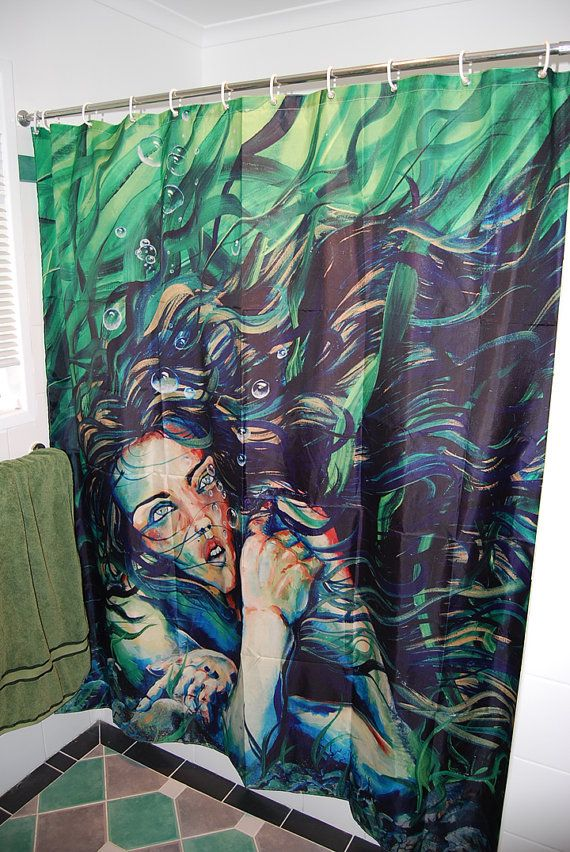 mermaid shower curtain 9 Shower Curtains I Never Want to See in Your Home