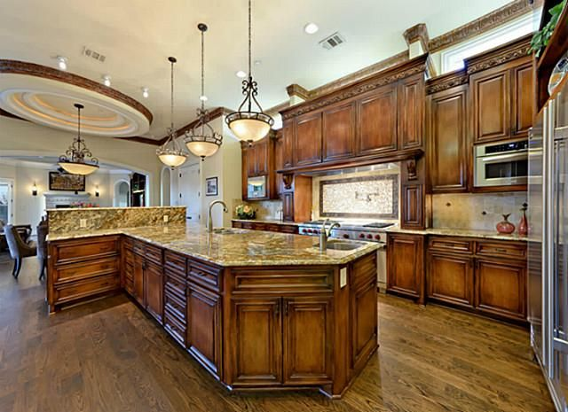 The most beautiful kitchens suited for holiday for Beautiful kitchen ideas pictures