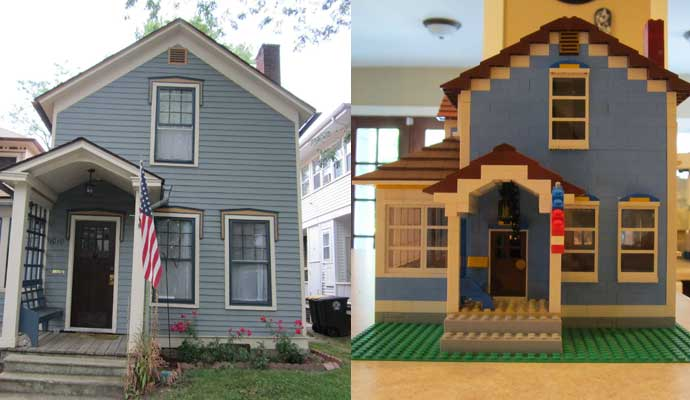 Legos Make the Coolest Homes
