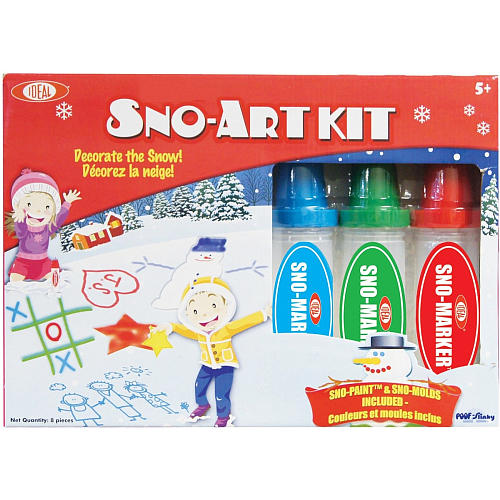 snowart 3 Snow Day Essentials for Kids