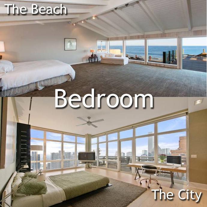 Bedroom Malibu vs. Manhattan: A Leonardo DiCaprio Home Showdown