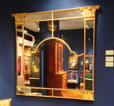 Georgian Mirror Inside the 60th Annual Winter Antiques Interior Design Show