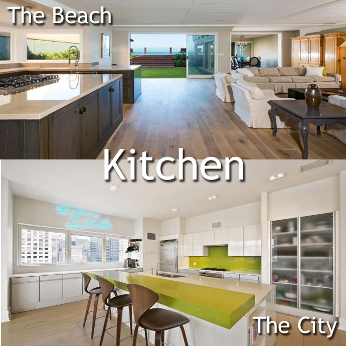 Kitchen1 Malibu vs. Manhattan: A Leonardo DiCaprio Home Showdown