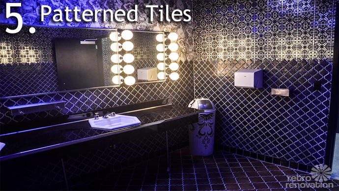 Patterned Tiles 5 Design Trends from American Hustle
