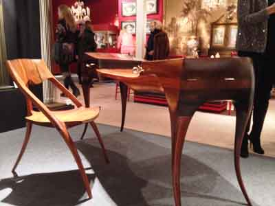 Wendel Castle desk Inside the 60th Annual Winter Antiques Interior Design Show