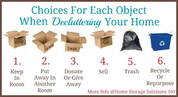 declutter Expert Advice on How to Prepare Your Home for Sale