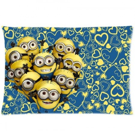 if you dont want commit to going with a full despicable me 2 sheet set than one fun pillow is a good option the reversible pillow cover below is available