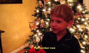 3 Year Old Shares 3 Last Minute Christmas Tips for Your Home