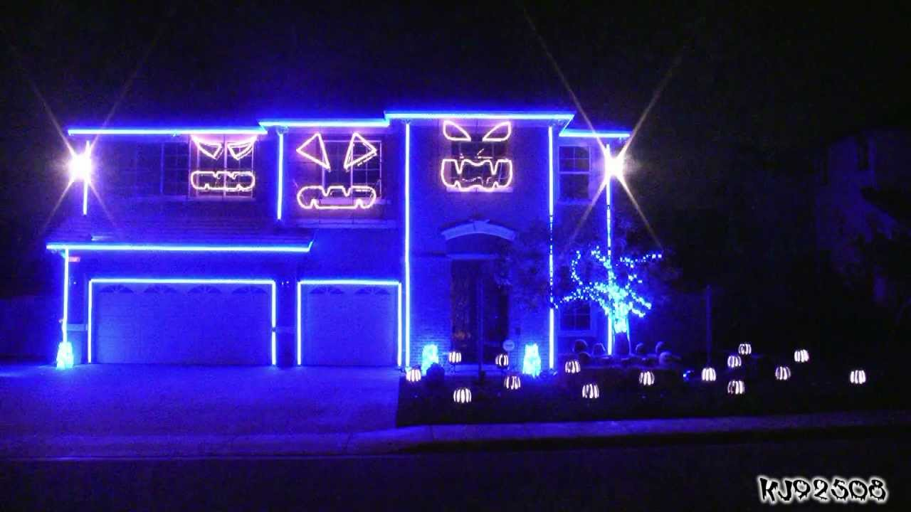 7 Scaretastic Halloween Home Light Shows Coldwell Banker