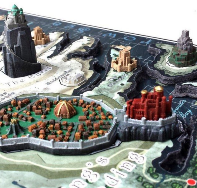 Fancy Game of Thrones 4D Cityscape Puzzle Game of Thrones Room Decor Ideas