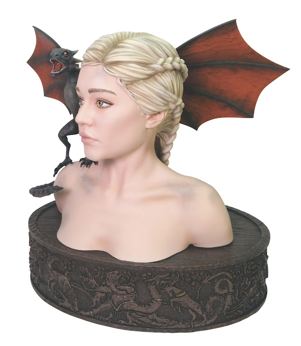 GOTDAENERYSBUST Game of Thrones Room Decor Ideas