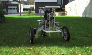 A Robot that Protects Your Yard from Intruders