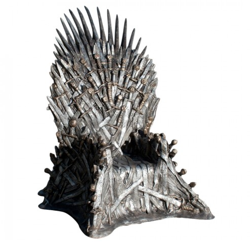 gameofthrones ironthrone Game of Thrones Room Decor Ideas