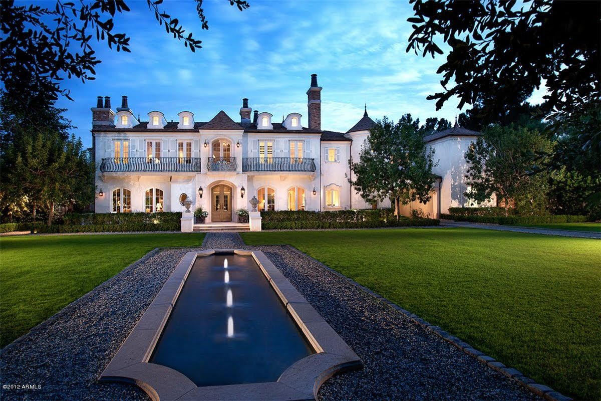Home Of The Week A French Manor Estate In Scottsdale