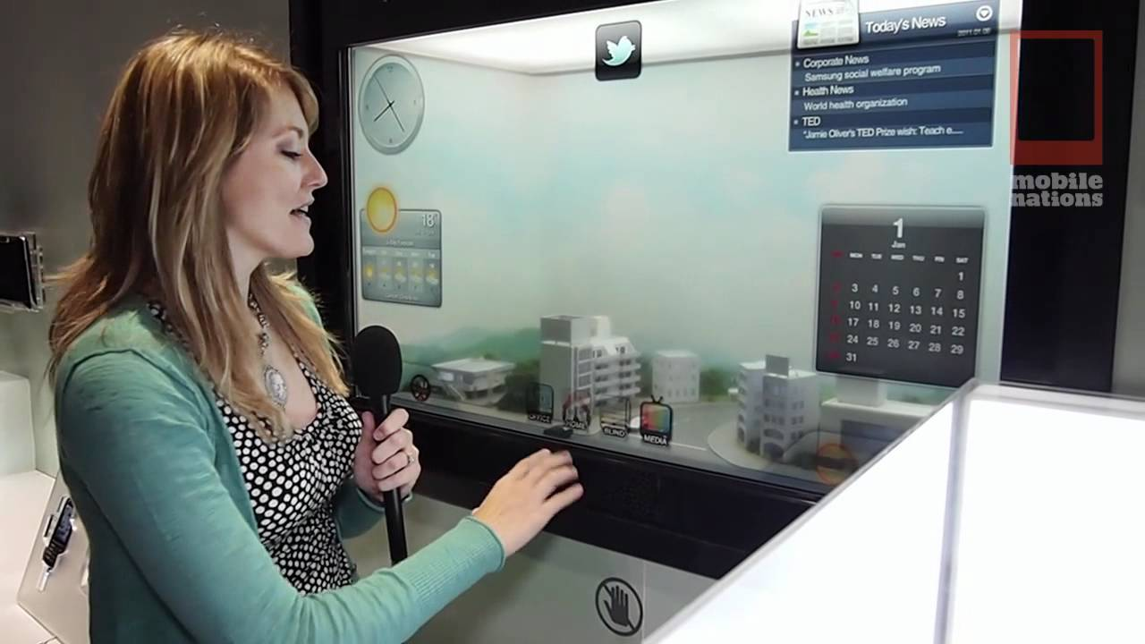Samsung Smart Window Will Minority Report Your Home