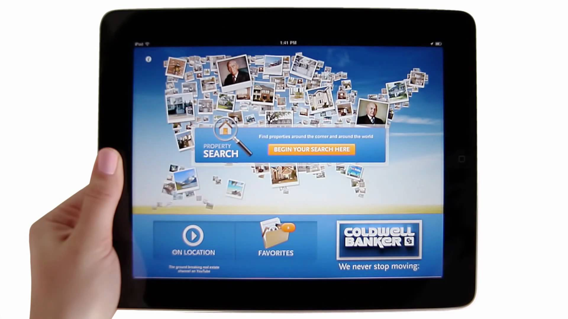 The Coldwell Banker iPad App
