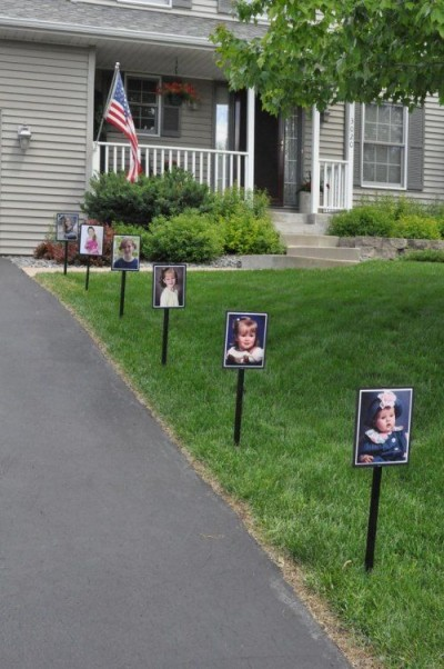 Backyard Graduation Party Ideas 25 best ideas about outdoor graduation parties on pinterest graduation parties yard party and graduation decorations 3 A Cute And Sentimental Welcome