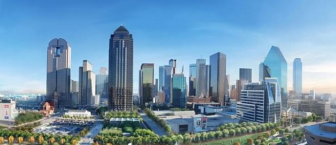 dallas skyline front row seat neighborhoods with the best views of