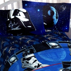 Darth Vader Bed Sheets