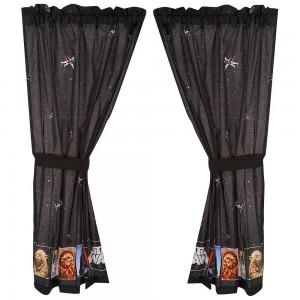 Star Wars Collage Drapes