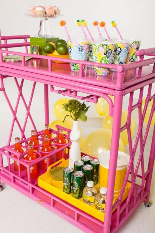 stylish bar carts coldwell banker blue matter. Black Bedroom Furniture Sets. Home Design Ideas