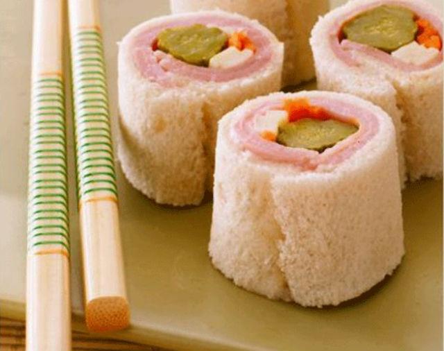 Sandwish sushi