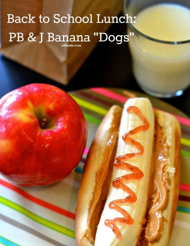 banana pbj dogs