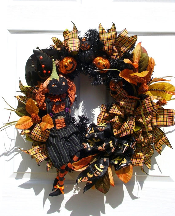 pumpkin-wreath