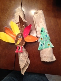 turkeys and trees by my little cuties