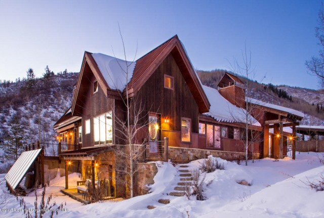 60 Larkspur Mountain Rd, Aspen, CO listed by Carol Hood Peterson with Coldwell Banker Mason Morse Real Estate