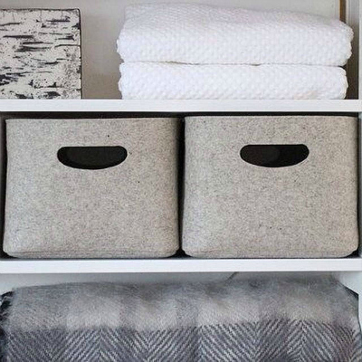 Clothing Storage Solutions: Utilize Baskets