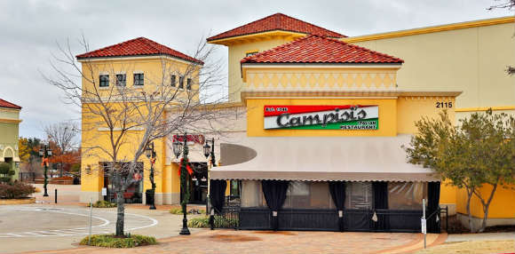 Pizza places in Rockwall: Campisi