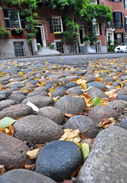 Beacon Hill cobblestone