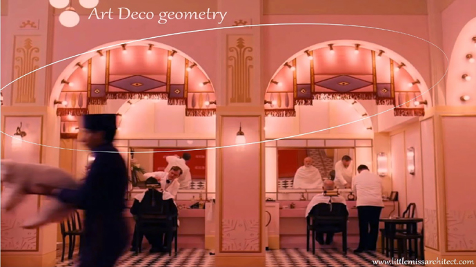 Little Miss Architect Art Deco Geometry
