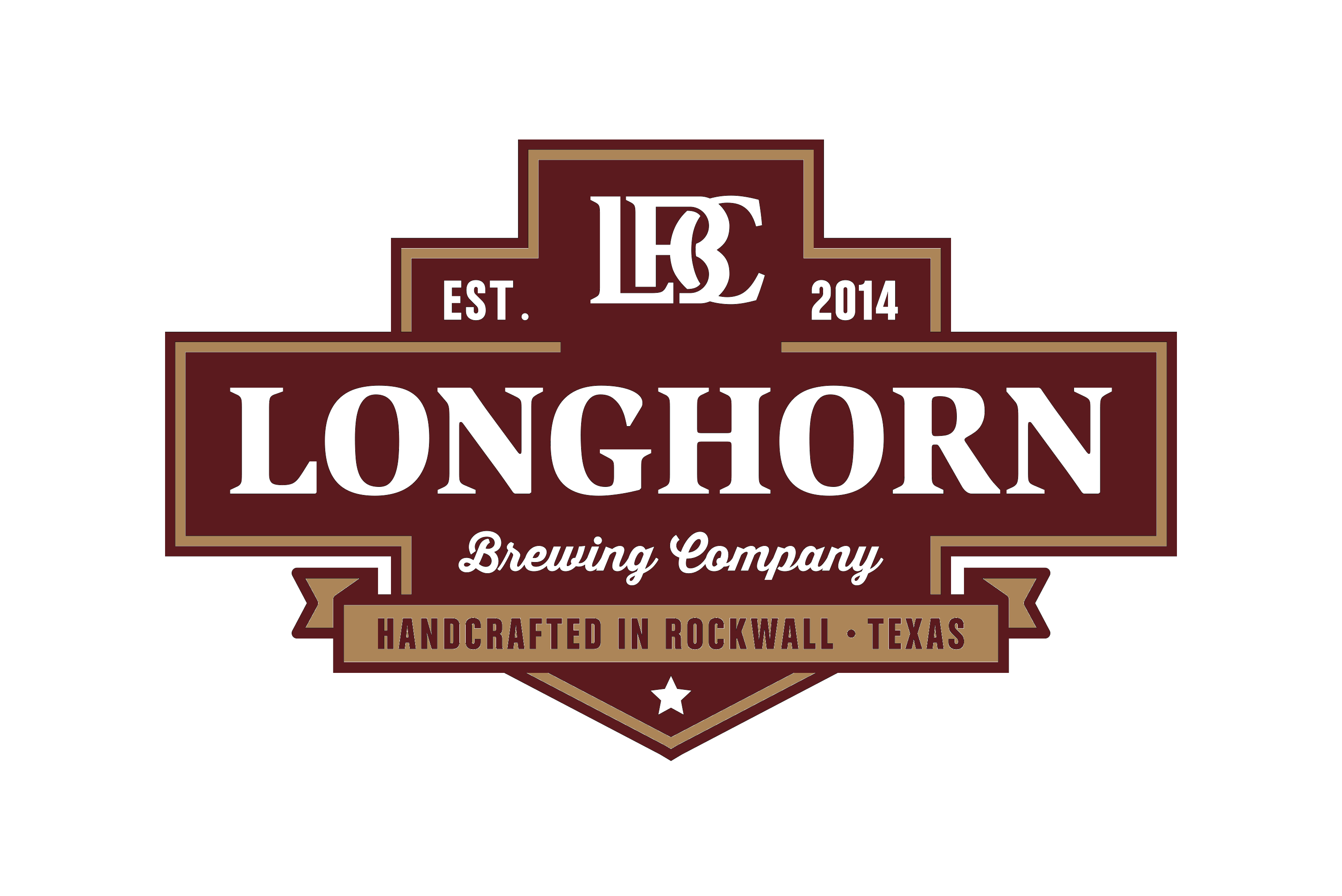 Longhorn Brewing Company - Rockwall Texas Craft Beer Brewery Logo