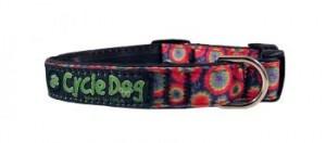 SkinnyWidth Collar Plastic-Tie Dye