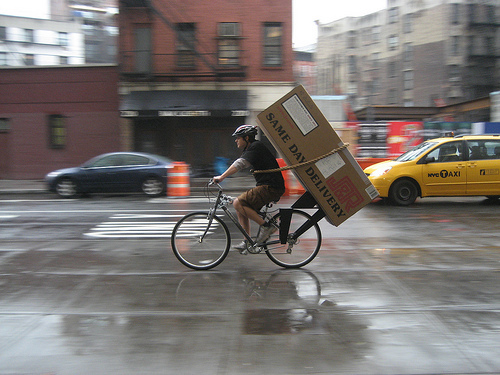 Bike Delivery in NYC