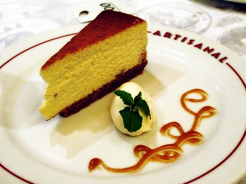 Artisanal cheesecake