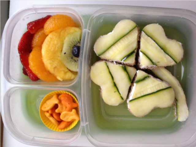 St Patricks Day Kid Lunch Bento Box