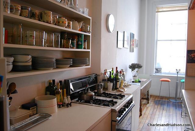loft kitchen in nyc