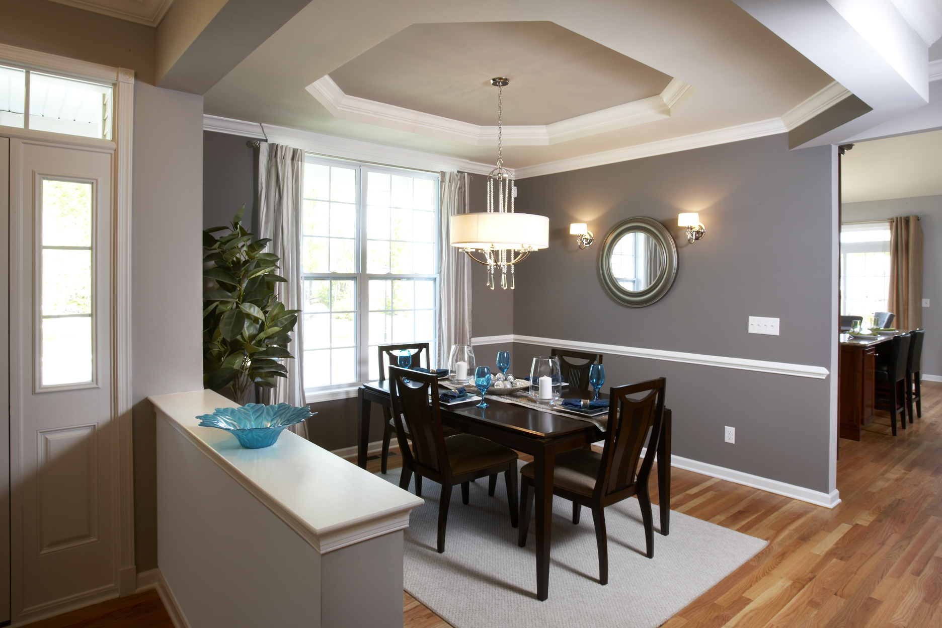 the importance of lighting when selling coldwell banker blue matter kimberton entrance and dining room