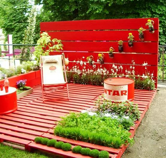 pallet-deck-garden